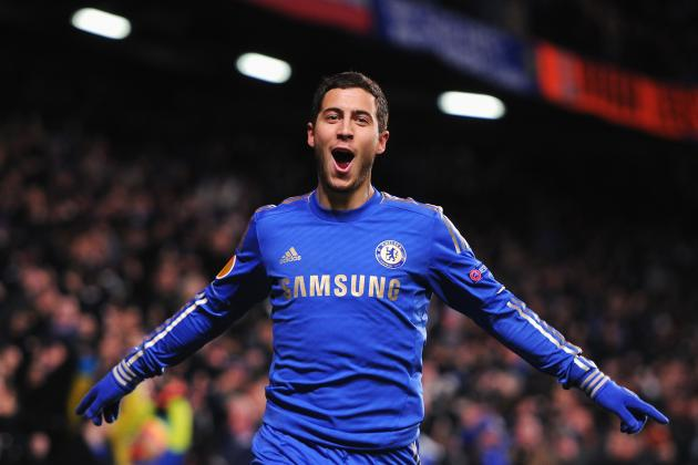 Hazard Lights Up the Bridge as Chelsea Oust Steaua in the Europa League