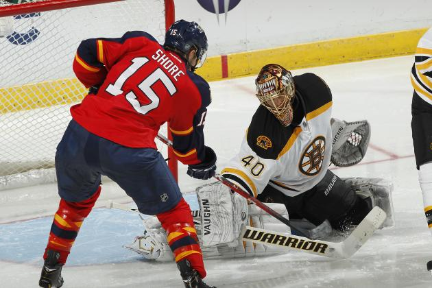Florida Panthers vs. Boston Bruins: GameCast