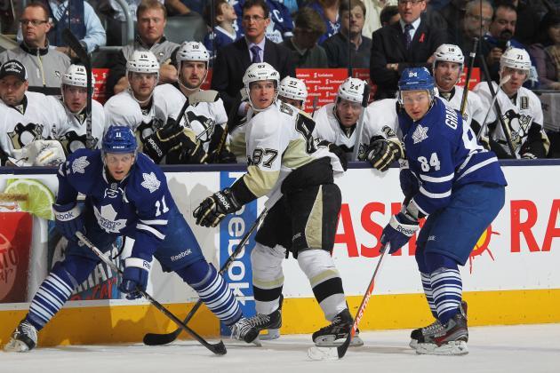 Pittsburgh Penguins vs. Toronto Maple Leafs: GameCast
