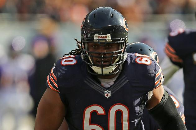 Bears' Free Agent G Louis Visits with Dolphins
