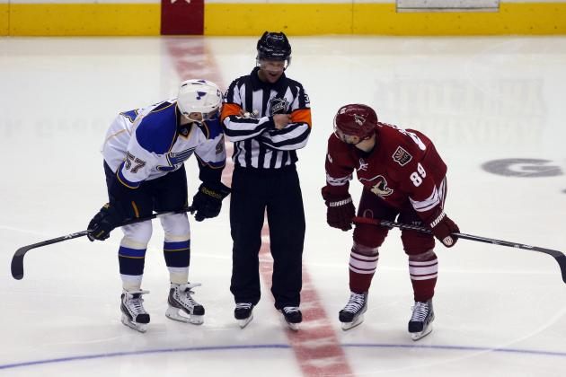 Phoenix Coyotes vs. St. Louis Blues: GameCast