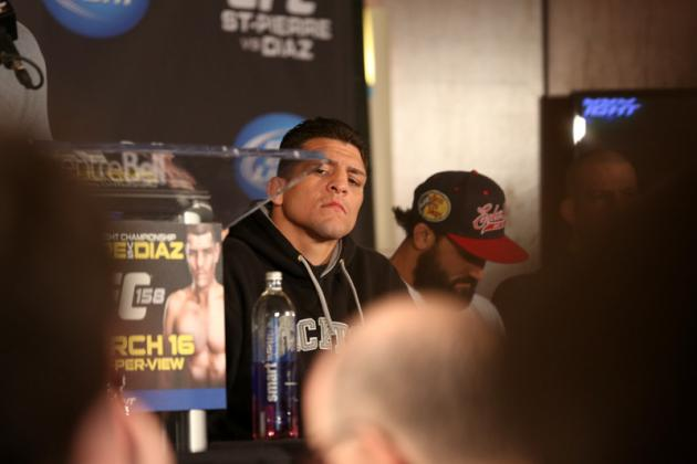 Dana White on Nick Diaz: 'He Doesn't Give a S**t, He Doesn't Play by the Rules'