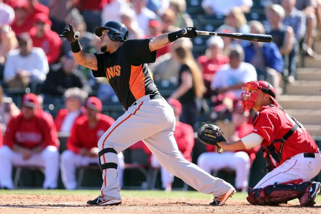 Giants Catcher Hector Sanchez Having Injury-Plagued Spring