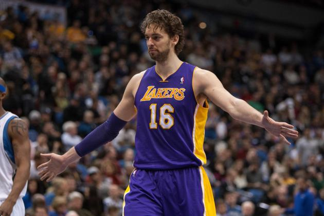 Lakers Rumors: Pau Gasol's Return Doesn't Put LA at Full Strength