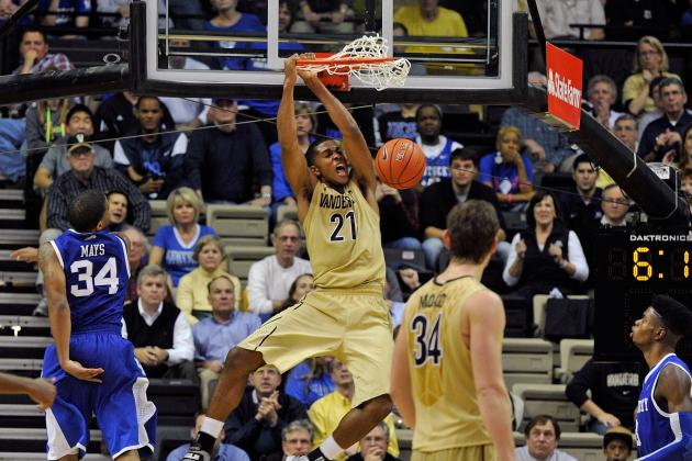 SEC Tournament Bracket Results 2013: Vanderbilt Pulls off Huge Upset