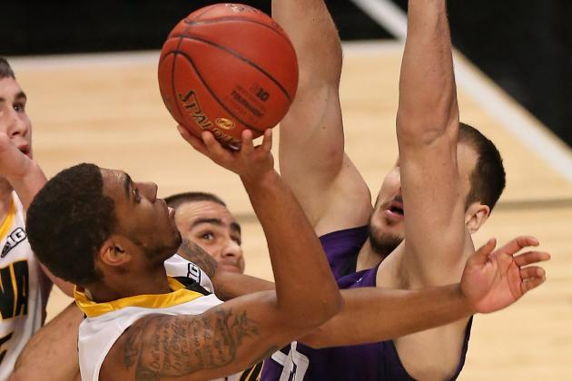 Iowa 73, Northwestern 59
