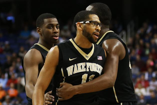 Wake Forest Falls to Maryland 75-62 in ACC Tournament