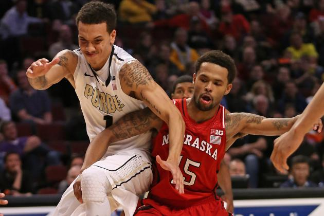 Nebraska ousts Purdue in Big Ten Tournament, 57-55
