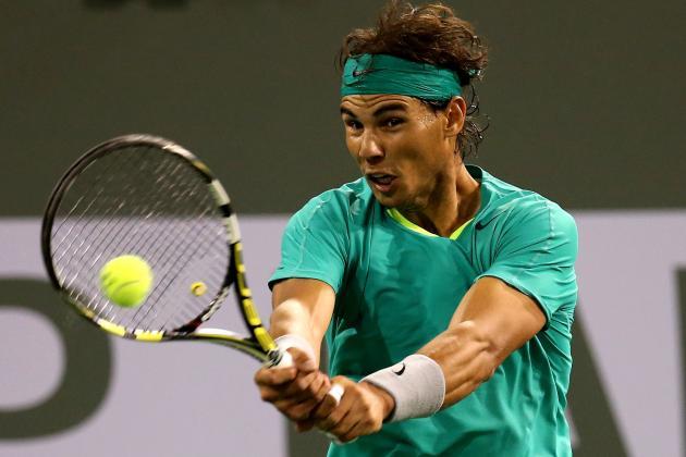 Rafael Nadal Defeats Roger Federer to Advance to BNP Paribas Open Semifinals