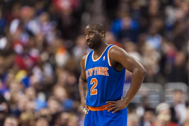 Knicks, Felton Knocked out by Blazers