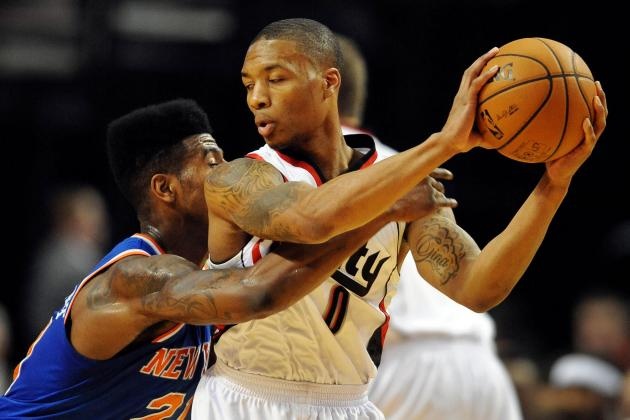 Blazers 105, Knicks 90: At a Glance