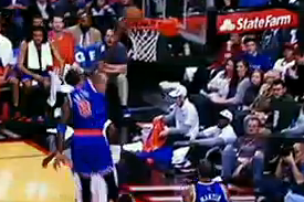 J.R. Smith Splits The Defenders