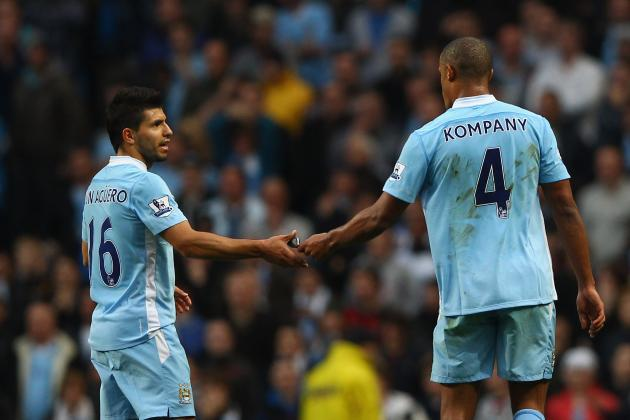 Manchester City Expect Aguero and Kompany Back on March 30