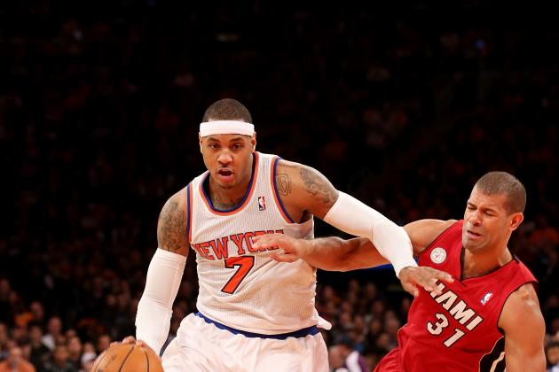 Will Carmelo Anthony Catch Kevin Durant or Settle for Another Runner-Up?