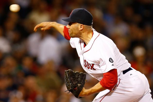 Report: Rangers Scouting Red Sox' Relievers as They Seek to Improve Bullpen