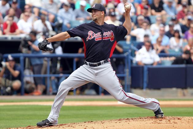 Braves' Minor Sharp Until Four-Run 5th Inning