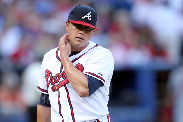 Medlen Fine Day After Being Hit in Arm by Line Drive