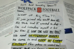 NC State Sends Insane Recruiting Letter
