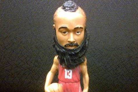 Rockets Offering Bearded Harden Bobblehead