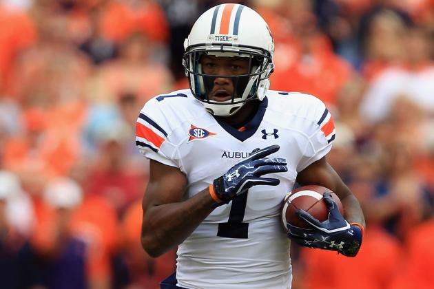 Who Will Emerge as Auburn's Next Playmaker at Wide Receiver?