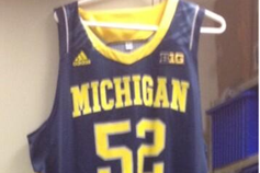 U-M to Wear Adidas Camo Unis vs. Wisconsin