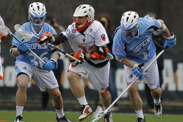 NCAA Lacrosse Game Preview: No. 6 Princeton Travels to Take on No. 14 Penn