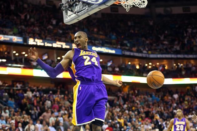 Updated Projections for Kobe Bryant's Twilight Years