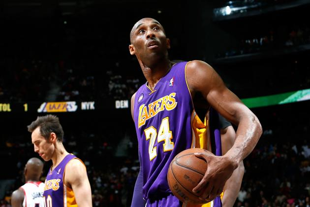 Kobe Bryant Status for Lakers vs. Pacers Game Tonight Updated