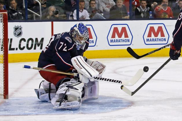 Bobrovsky Leading Blue Jackets on Quite a Run