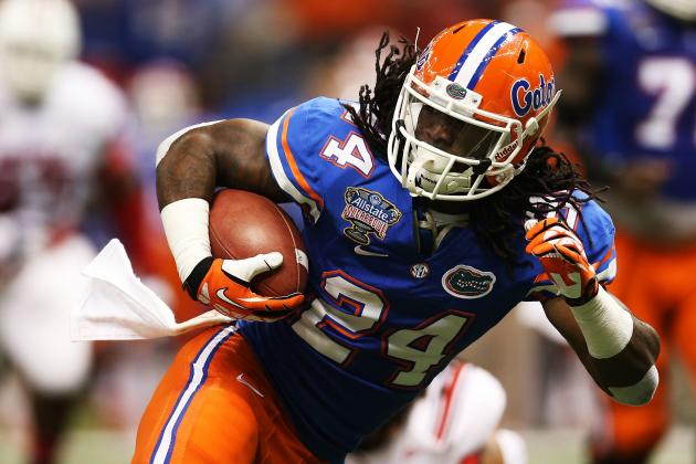 UF's Muschamp Expects Smooth Transition at RB