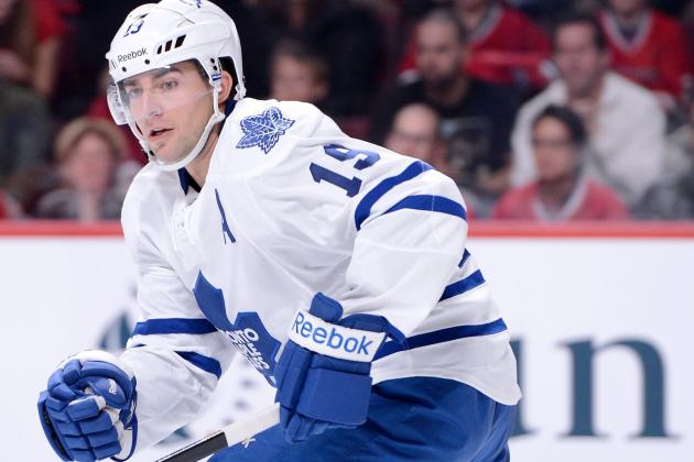 Lupul Cleared for Contact, Could Play Saturday