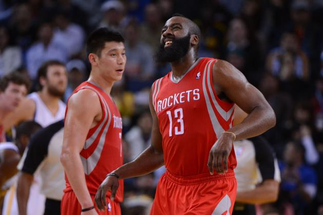 James Harden Injury: Rockets Must Be Careful with Star's Ankle for Stretch Run