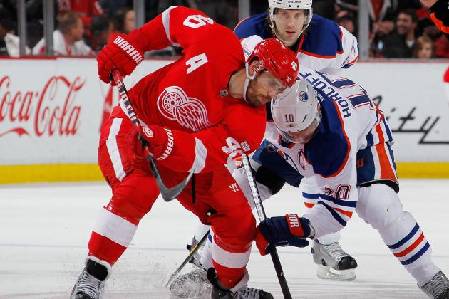 Red Wings-Oilers Preview