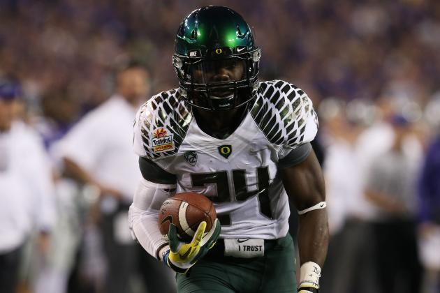 Kenjon Barner: Ex-Oregon Running Back Says He's Ready for the Next Step