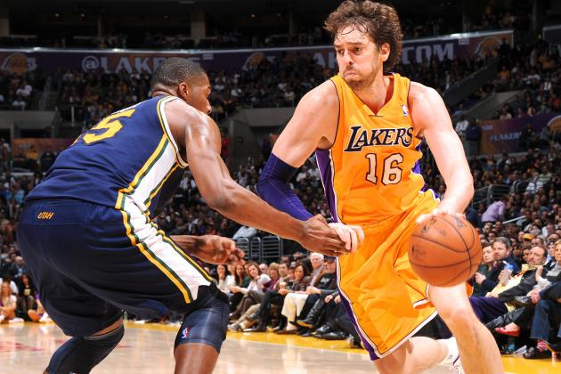 How a Healthy Pau Gasol Will Impact the Los Angeles Lakers' Playoff Push