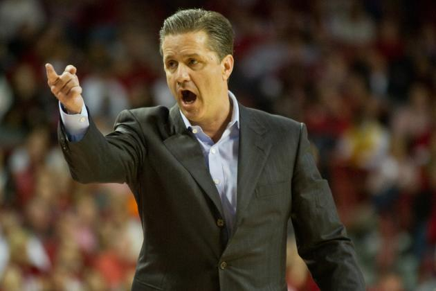 John Calipari Expecting Plenty of 'crazy' in Tournament