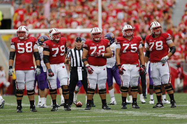 Wisconsin's Offensive Line Is Adjusting