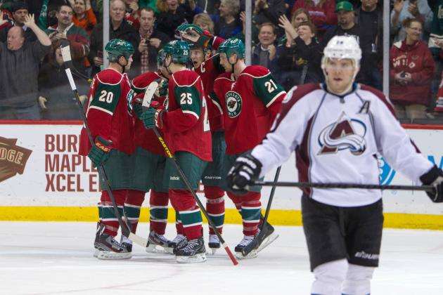 Three-Goal Second Period Ignites Wild Past Avs