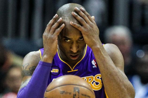 Lakers Call Kobe Bryant (ankle) a Game-Time Decision Against Pacers