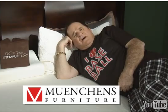 These Local Furniture Commercials Starring Pete Rose Are a Thing of Beauty