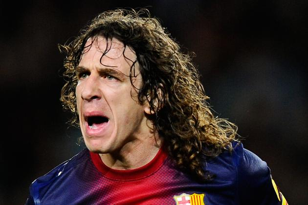 Puyol out for Up to a Month