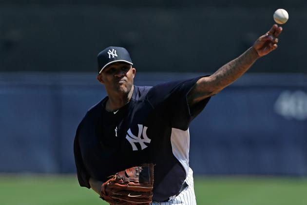 Sabathia Pleased with Spring Debut for Yankees