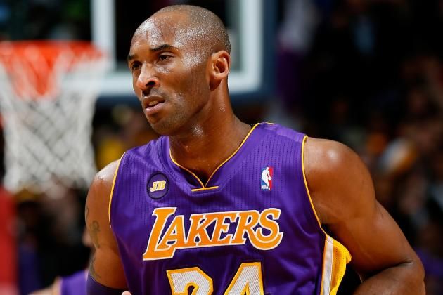 Kobe Bryant Listed as Starter Tonight vs. Pacers