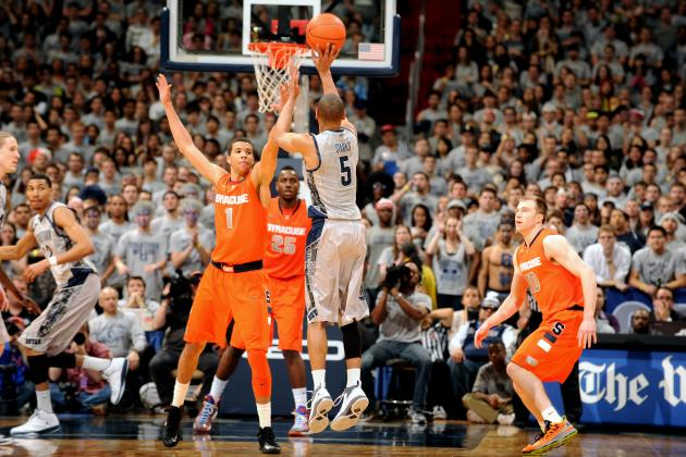 NCAA Gamecast: Syracuse vs Georgetown