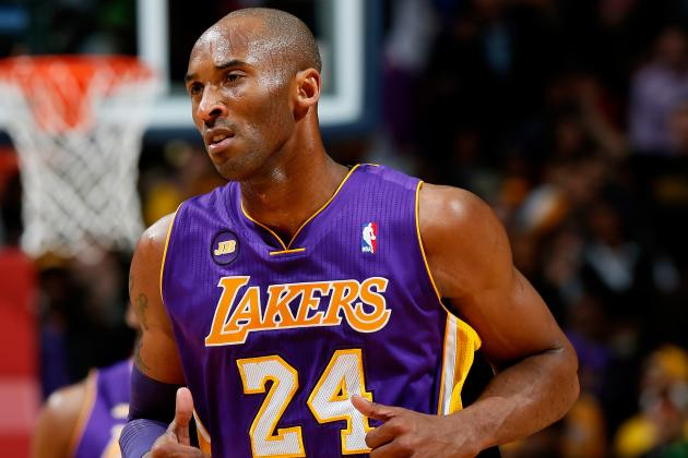 Kobe Bryant Will Be in the Starting Lineup Friday Against Pacers