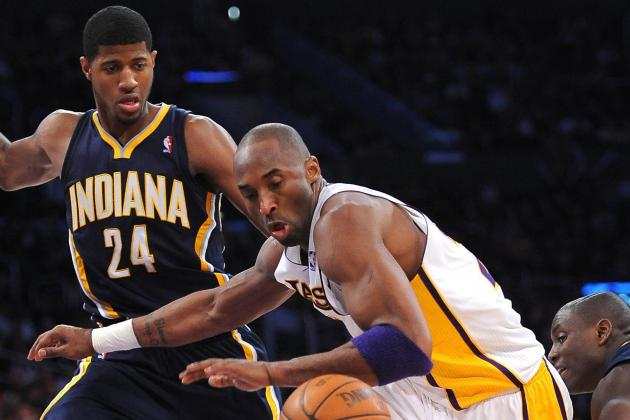 NBA Gamecast: Lakers vs. Pacers