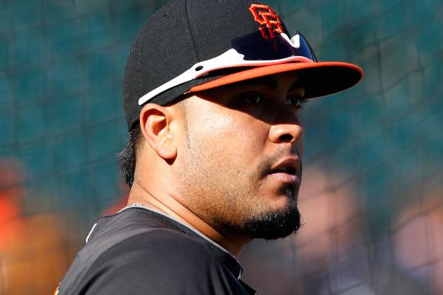 Hector Sanchez (shoulder) Shut Down Until Tuesday