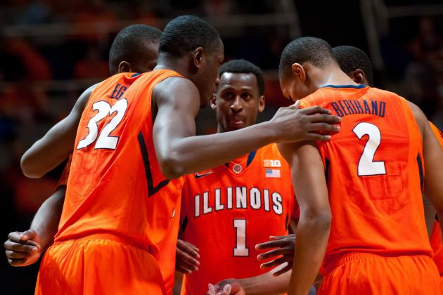 Illinois Basketball: Highlighting X-Factors for Fighting Illini in Big Dance