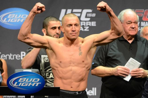 GSP vs Diaz: What's at Stake for Georges St-Pierre at UFC 158?