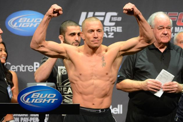 UFC 158: Nate Diaz Posts New Event Photo, Rips GSP for Rumored Steroid Use